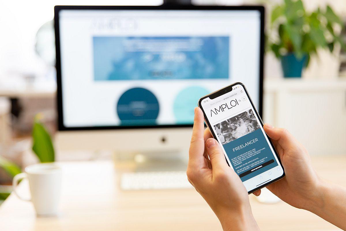 AMPLOI verbindet den Handel mit qualifizierten Freelancern