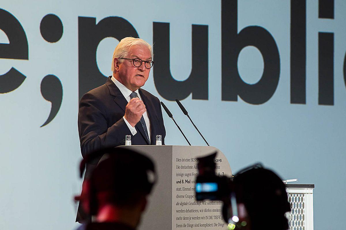 Die Demokratisierung des Digitalen: MEDIA CONVENTION Berlin und re:publica eröffneten mit Bundespräsident Frank-Walter Steinmeier