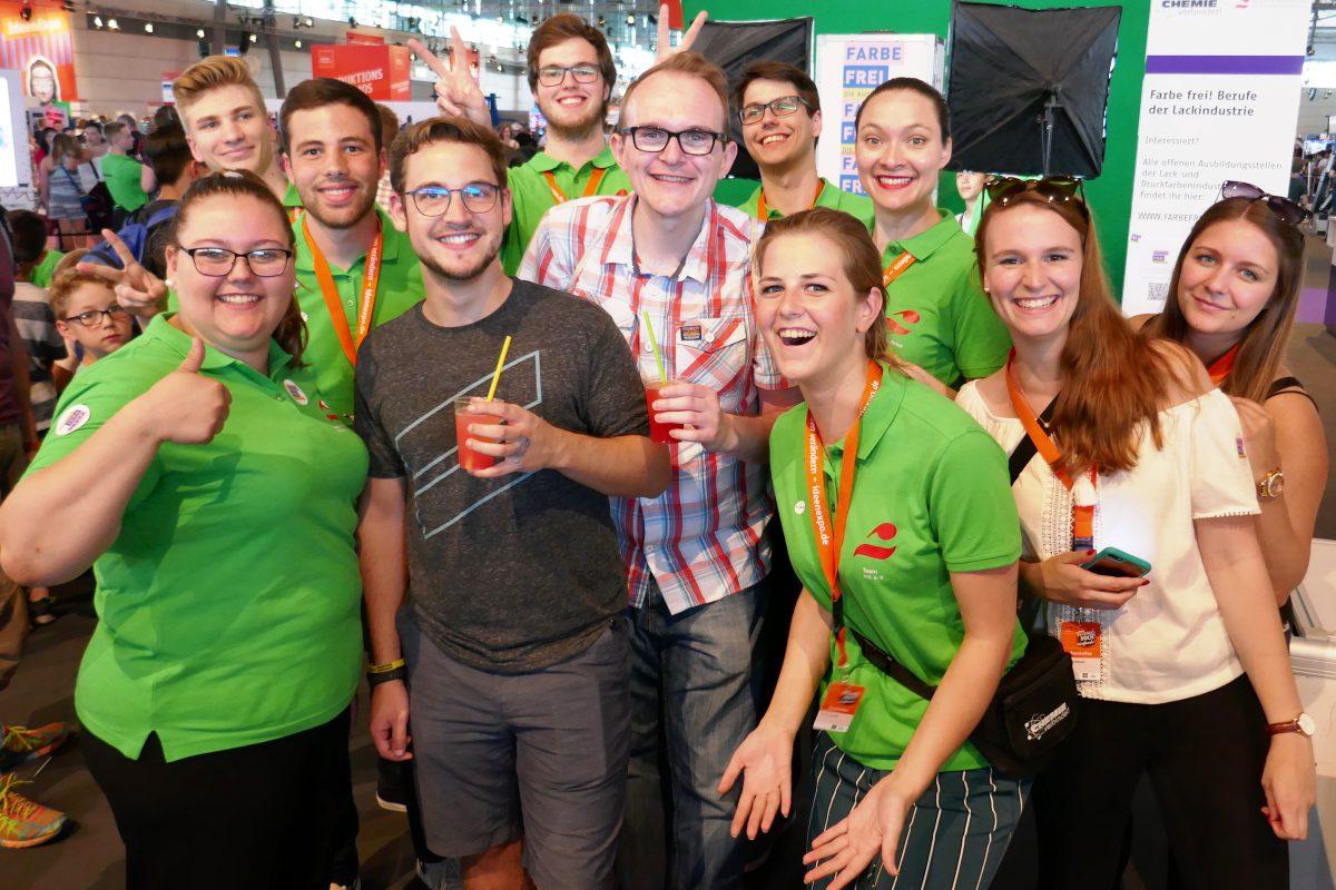 IdeenExpo: Bunte Informationen zwischen Paintball und Slush-Eis