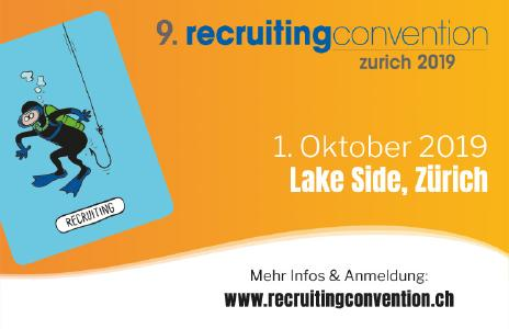9. recruitingconvention zurich am 1. Oktober 2019 im Lake Side