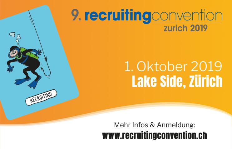 9. recruitingconvention zurich am 1. Oktober 2019 im Lake Side