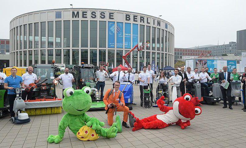 CMS Berlin 2019 eröffnet: Internationale Reinigungsfachmesse startet mit der traditionellen Parade der Reinigungsbranche