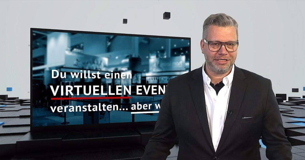 link instinct-Geschäftsführer Harry Flint präsentiert expo-IP