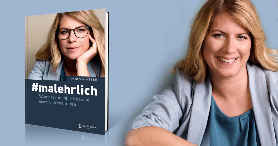 Vanessa Weber veröffentlicht ihr Buch